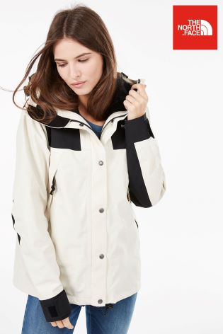 3115419b927342 Buy The North Face® White And Black 1990 Mountain Jacket GTX from ...