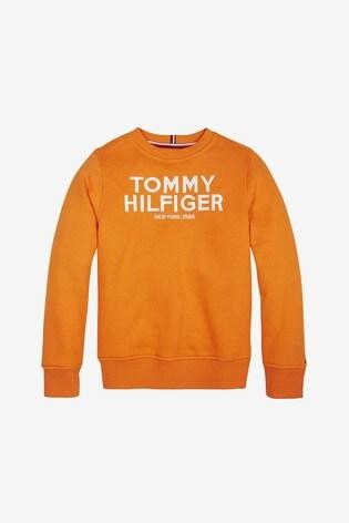 Tommy Hilfiger Boys Logo Embroidered Sweatshirt
