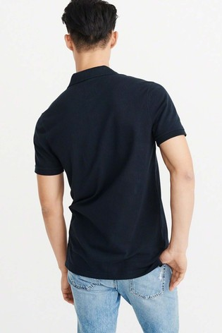 a49faefd Navy Abercrombie & Fitch Classic Polo; Navy Abercrombie & Fitch Classic ...