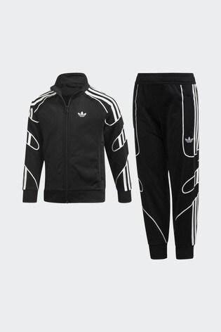 5db8a9c91b adidas Originals Black Flamestrike Tracksuit