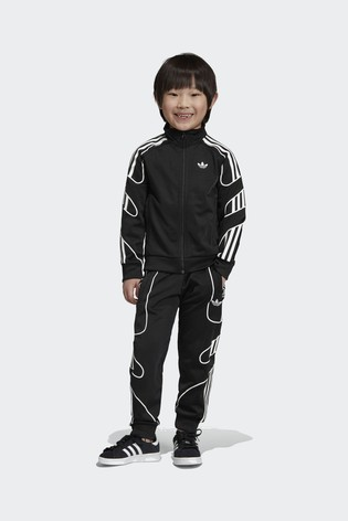 af9dcec8 Buy adidas Originals Black Flamestrike Tracksuit from the Next UK ...