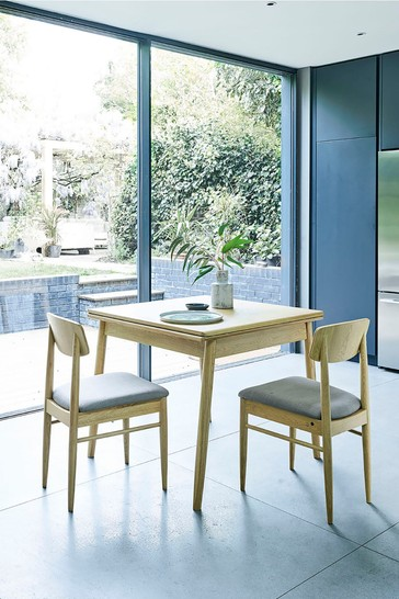 Buy Ercol Chesham Oak 4 To 6 Seater Extendable Dining Table From The Next Uk Online Shop