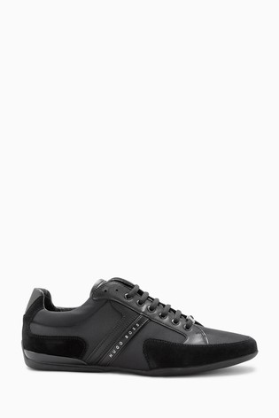 BOSS ATHLEISURE SPACIT - Trainers - black