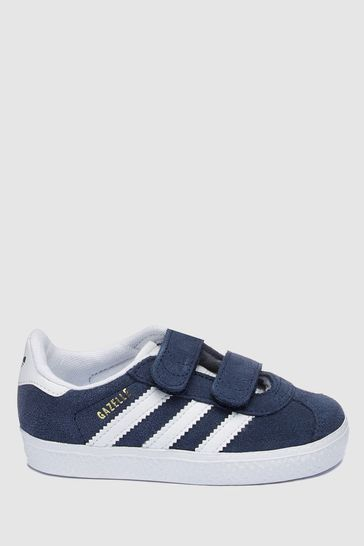 9b2e66a0f849ed Buy adidas Originals Gazelle Velcro Youth from Next Gibraltar