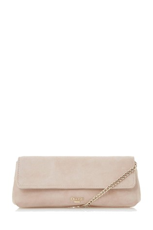 new high quality top-rated real wholesale Dune London Blush Belong East To West Clutch Bag