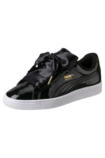 the best attitude 78e3e 38927 Puma® Basket Heart Patent Trainers