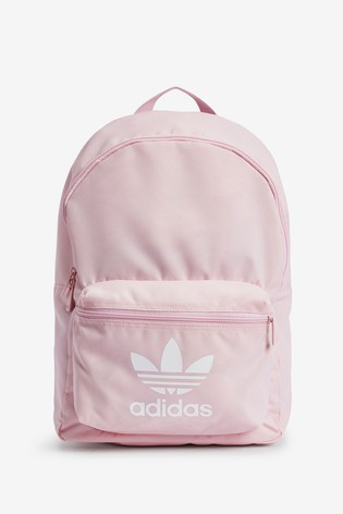 Banquete código postal Solicitud  Buy adidas Originals Pink Classic Backpack from the Next UK online ...
