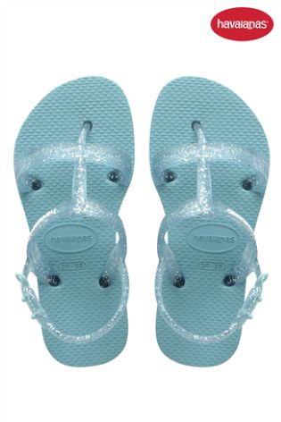 9eb360bd00a129 Buy Havaianas® Blue Glitter Strappy Sandal from Next Ireland