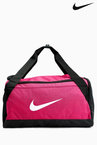 Buy Nike Pink Brasilia Small Training Duffel Bag from Next Netherlands 30ba7f175927e