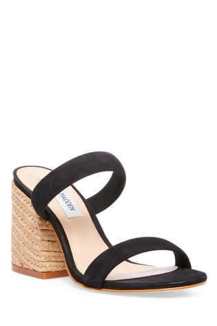 Steve Madden Black Espadrille Sandals