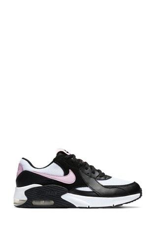 Buy Nike Black/Pink Air Max Excee Youth