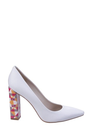 Buy Riva White Pandoro On Court Shoes