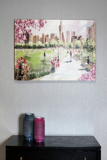 Buy Painted Park Scene Canvas By Arthouse From The Next Uk Online Shop