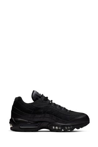 nike air max 95 trainers black