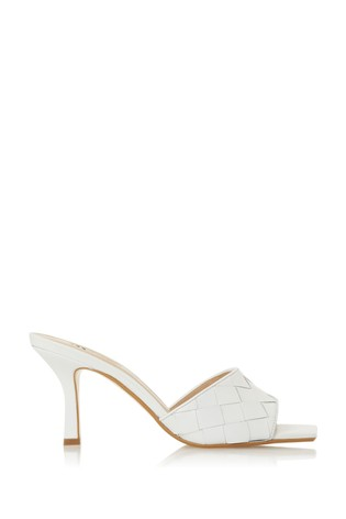 Buy Dune London Montreal White Leather