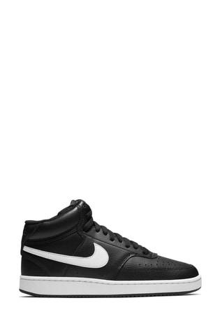 tsunami Reclamación cortador  Buy Nike Court Vision Mid Trainers from the Next UK online shop