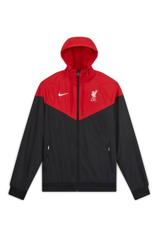 Buy Nike Black Liverpool Fc Woven Jacket From The Next Uk Online Shop