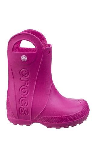 Buy Crocs™ Pink Handle It Rain Boots