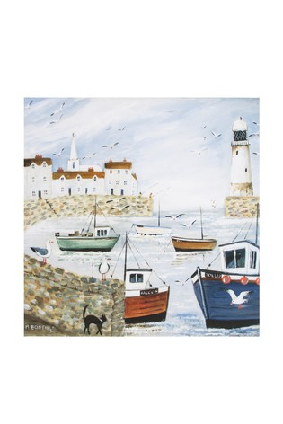 Buy Harbour Side Wall Art By Art For The Home From The Next Uk Online Shop