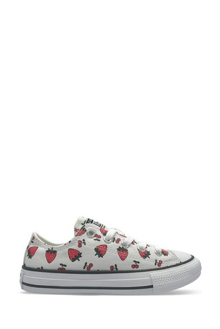 Buy Converse Strawberry Print Youth