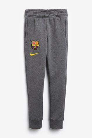 Embajada Residuos golf  Buy Nike Grey FC Barcelona Fleece Joggers from the Next UK online shop