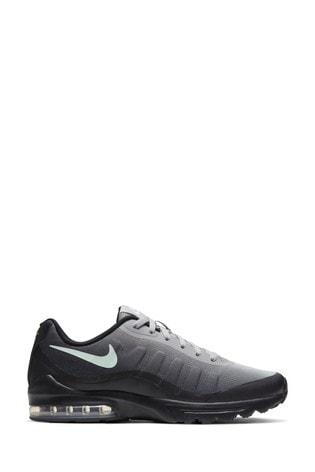 Buy Nike Black/White/Green Air Max