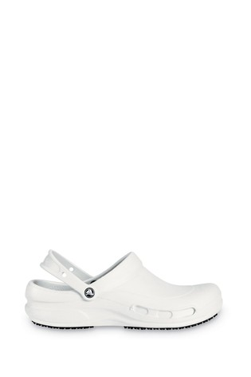 Buy Crocs™ White Bistro Work Clogs