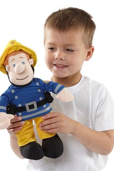 "Fireman Sam Talking Soft Plush Cuddly Toy 12/"""