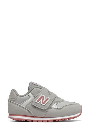 New Balance 393 Velcro Infant Trainers