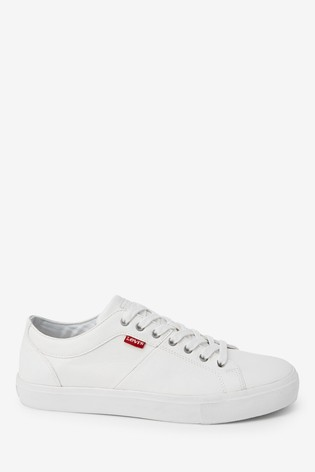 Buy Levi's® White Woodward Trainers