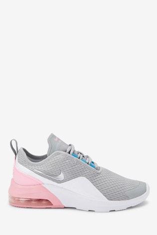 Buy Nike Grey/Pink Air Max Motion Youth