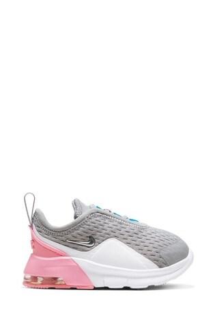Buy Nike Grey/Pink Air Max Motion