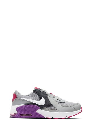 air max purple and grey