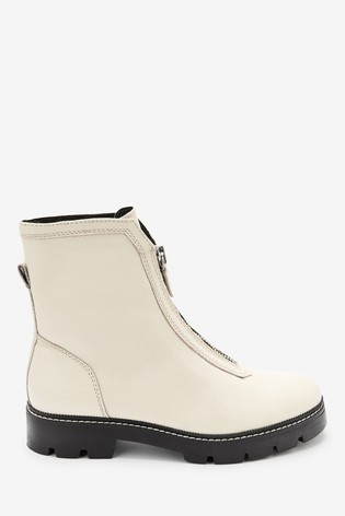 Front Zip Chunky Boots from the Next UK