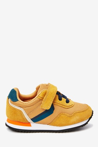 Elastic Lace Retro Trainers (Younger
