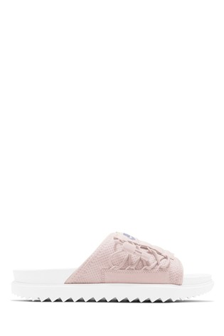 Buy Nike Pink City Sliders from the