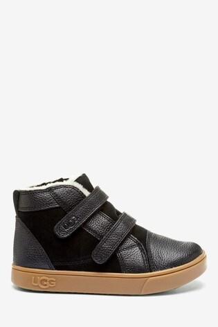 Buy UGG® Black Rennon II Velcro Sneaker