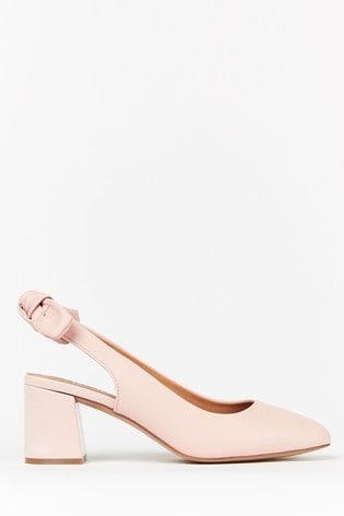 Buy Wallis Wisdom Wide Fit Pink Bow