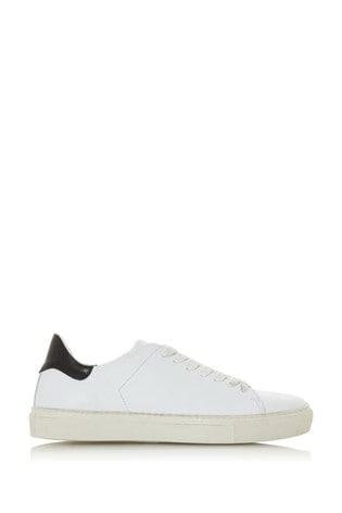 Buy Dune London Targett White Leather