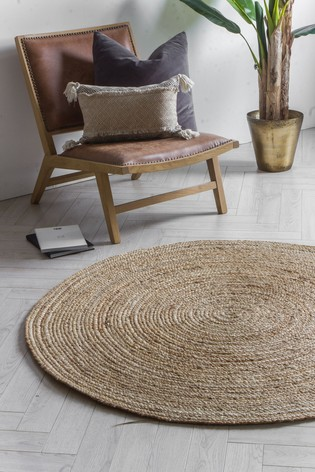 Mapplewell Jute Round Rug by Gallery Direct