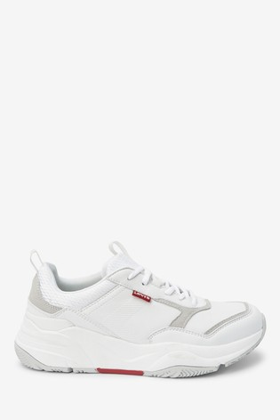 White Chunky Trainers from the Next UK