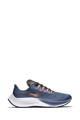 Buy Nike Run Navy/Gold Zoom Pegasus 37