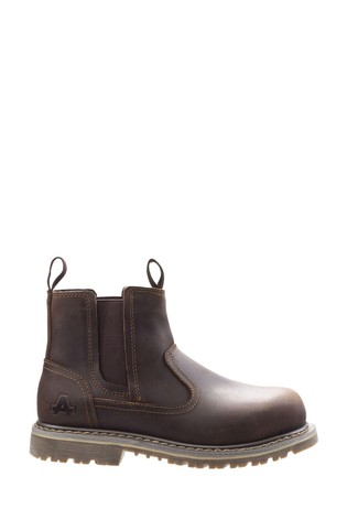 Amblers Safety Brown AS101 Alice Slip