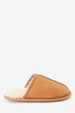 Buy Tan Slip-On Mules (Older) from the