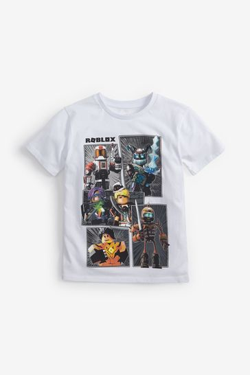 Buy Roblox T Shirt 3 16yrs From The Next Uk Online Shop