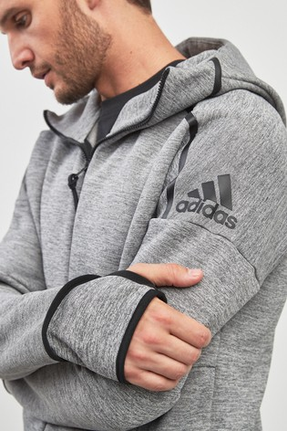 adidas Z.N.E Prime Knit Zip Through Hoodie