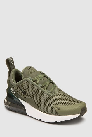 separation shoes 829e7 80ee0 Nike Green Air Max 270 Junior ...
