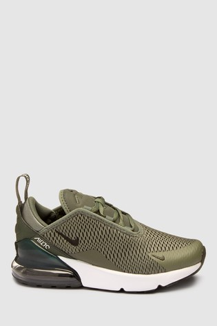 huge discount 11b5a 87e64 Buy Nike Green Air Max 270 Junior from Next Latvia