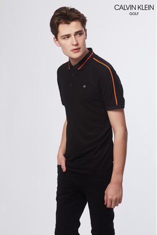 8974f285 Buy Calvin Klein Golf Black Extension Polo from Next Cyprus
