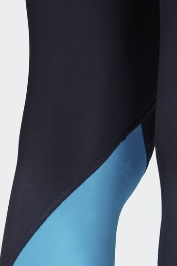 de3c677344 Buy adidas Blue Alphaskin Sport 2.0 Embossed 7/8 Tight from the Next ...